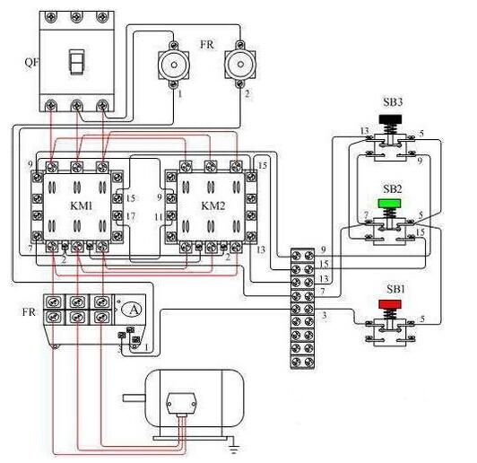 jzc4接触器式中间继电器接线图