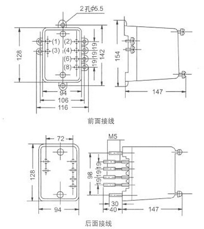 ds-100电磁式时间继电器参数,工作原理,接线图